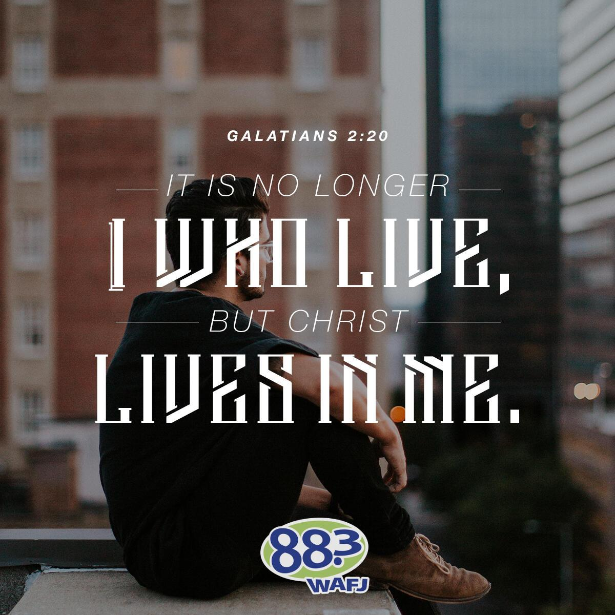Galatians 2:20 - Verse of the Day