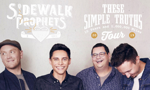 These Simple Truths Tour with Sidewalk Prophets