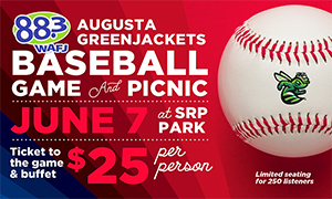 88.3 WAFJ Picnic In the Park with the Augusta GreenJackets