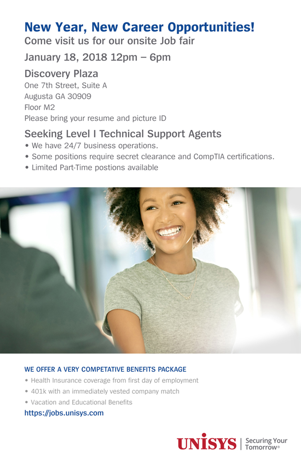 Unisys Job Fair