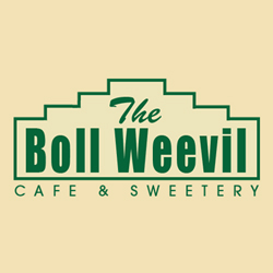 The Boll Weevil Cafe & Sweetery Logo