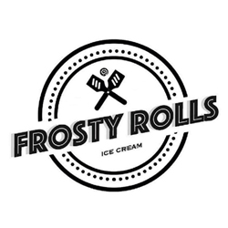 Frosty Rolls Ice Cream Logo